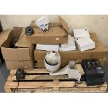 Contents to pallet - security cameras, j