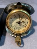 A Grants of Dalvey Voyager travel clock in case