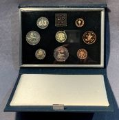 A 1983 Royal Mint UK proof coin collection in case