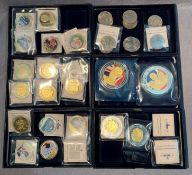 Contents to six boxes - 34 GB commemorative coins - Edward VIII 1936, Year of the Three Kings 1936,