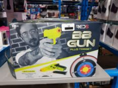 9 X RED5 BB GUN PLUS TARGET Further Information Returned items carry 'RTM'