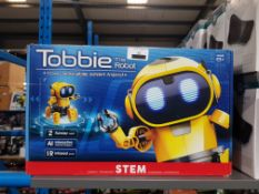 8 X STEM TOBBIE THE ROBOT Further Information Returned items carry 'RTM' stickers