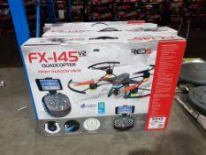 4 X RED5 FX-145 V2 QUADCOPTER FPV Further Information Returned items carry 'RTM'
