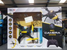 7 X RED5 RC CAMERA DRONE Further Information Returned items carry 'RTM' stickers