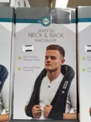 4 X WELL BEING SHIATSU NECK & BACK MASSAGER Further Information Returned items