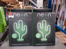 16 X #WINNING NEON CACTUS Further Information Returned items carry 'RTM' stickers