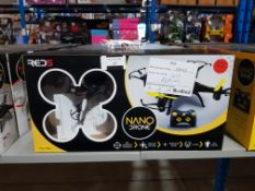 10 X RED5 NANO DRONE Further Information Returned items carry 'RTM' stickers