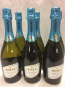 6 x 750ml bottles of Bolla Prosecco extr