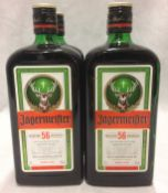 4 x 700ml bottles of Jagermeister