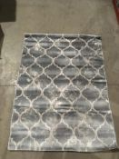 A Paco Home Victory 605 grey rug - 120cm