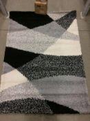 A Paco Home Mango 308 grey rug - 140cm x 200cm
