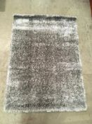 A Paco Home Touch 100 grey rug - 120cm x