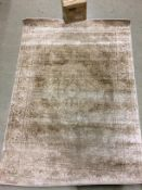 A z2zrug Santorini Collection 5862 cream rug - 120cm x 170cm