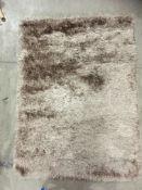 A Paco Home Glamour GLA 300 beige rug -