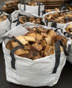 A one tonne bag containing kindling (image is for example only) ** Please note - this lot is to be