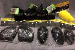 10 x items - seat covers, hip protectors,