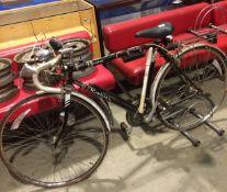 A Raleigh Routier 15 speed gentleman's bike with drop handles