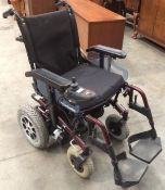 A Roma Medical Marbella four wheel mobility wheelchair complete with charger - the wheelchair runs