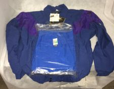 """Large All Square Gortex zip jacket - Large and a pair of Calypso waterproof golf trousers - 27"""""""