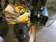 A Cebora portable mono welder ref. no.