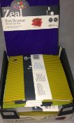 26 x Zeal small heat resistant mats in v
