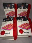 10 x Zeal silicone mini muffin moulds RR