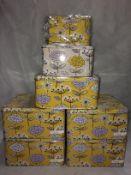 5 x sets of 3 cooksmart cake tins RRP £1