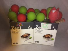 28 x assorted Zeal heat proof basting to
