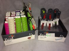 41 x assorted Zeal instant lighters and