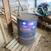 Pt Barrel 10w/30 tractor oil (205L drum) Approx 55L