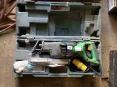 Hitachi Reciprocating saw 110v. Electrical safety test passed (11.09.20).