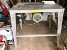 Table saw. Electrical safety test passed (11.09.20).