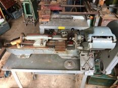 Myford Super 7 lathe, has no lead use manually.
