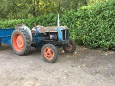 1950 Fordson Diesel Major New injectors, injection pump set up, serviced - oils and filters changed,