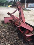 Yard scraper. Stored near Beccles, Suffolk. No VAT on this item.