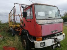 FULL AGRICULTURAL REGISTERED Leyland constructor bale chaser not limited use. From the mid 80s.