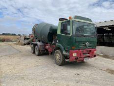 Foden Concrete Mixer Lorry 3000-345 (2002) - Mixer year 2011.