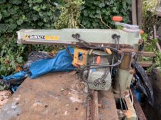 Dewalt radial arm saw. Pat test failed. Spares and Repairs Stored near Gorleston, Norfolk.item.