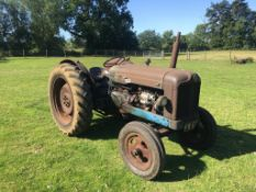 1952 Fordson Major E1A Major. Starts and runs well, new front tyres. Stored near Norwich, Norfolk.