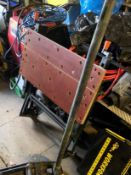 Workmate wodden folding bench. Stored near Gorleston, Norfolk No VAT on this item.