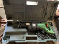 Hitachi Reciprocating saw 13 amp plug. Electrical safety test passed (11.09.20).