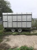 Ifor Williams 12ft x 6ft livestock trailer in very good condition. Stored near Kirby Cane, Bungay.