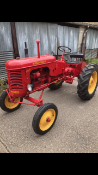 Massey - Harris Pacer Model 16, 1954. Stored near Bungay, Suffolk. No VAT on this item.