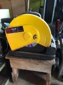 Unicut cut off saw. Electrical safety test passed (11.09.20).