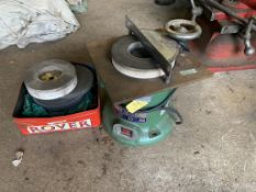 Warco 6 inch Universal Surface grinder YF -6 240V serial No. 1989 c/w spare discs.
