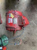 AEI - AC Motor - KNX C182 No.5487 220V/240V - 380V/420V. Stored near Gorleston, Norfolk.