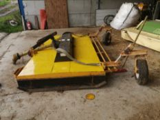 Weaving 9ft shaft driven pasture topper. Purchased new in approx 2004.