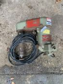 Duplex Tools - m/c No.33450 Type D27 230/350V. Stored near Gorleston, Norfolk.