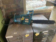 Black & Decker electric chainsaw DN402- no plug. Stored near Gorleston, Norfolk.