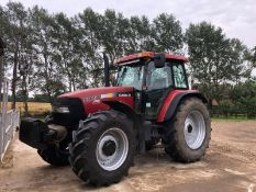 2005 Case MXM140 Pro Tractor (8900 hours), 18 Speed power shift, 40k gearbox, 4 spoils,
